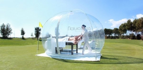 The Spa Treatment Review: Natura Bissé Oxygen Bubble Pure Air Treatment @ Wynyard Hall