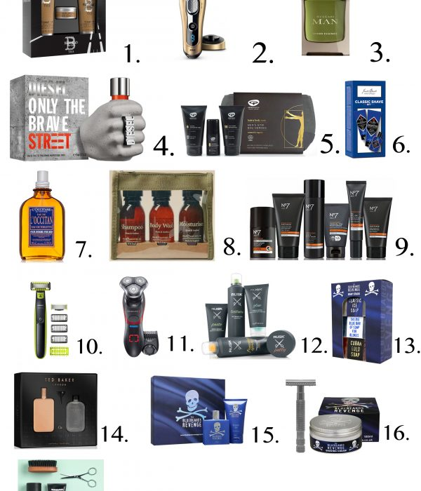 The Grooming Christmas Gift Guide – For Him