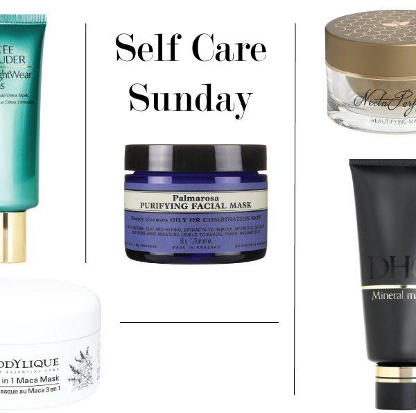Self Care Sundays: 5 Fabulous Face Masks