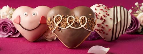 Valentine'sKrispy Kreme Doughnut: Hugs & Hearts Limited Edition