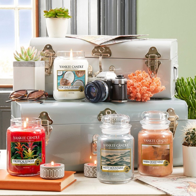 Beauty News: Yankee Candle 'Just Go' Summer Collection