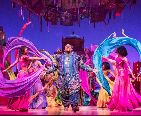 The West-End Theatre Review: Aladdin, The Musical. London.