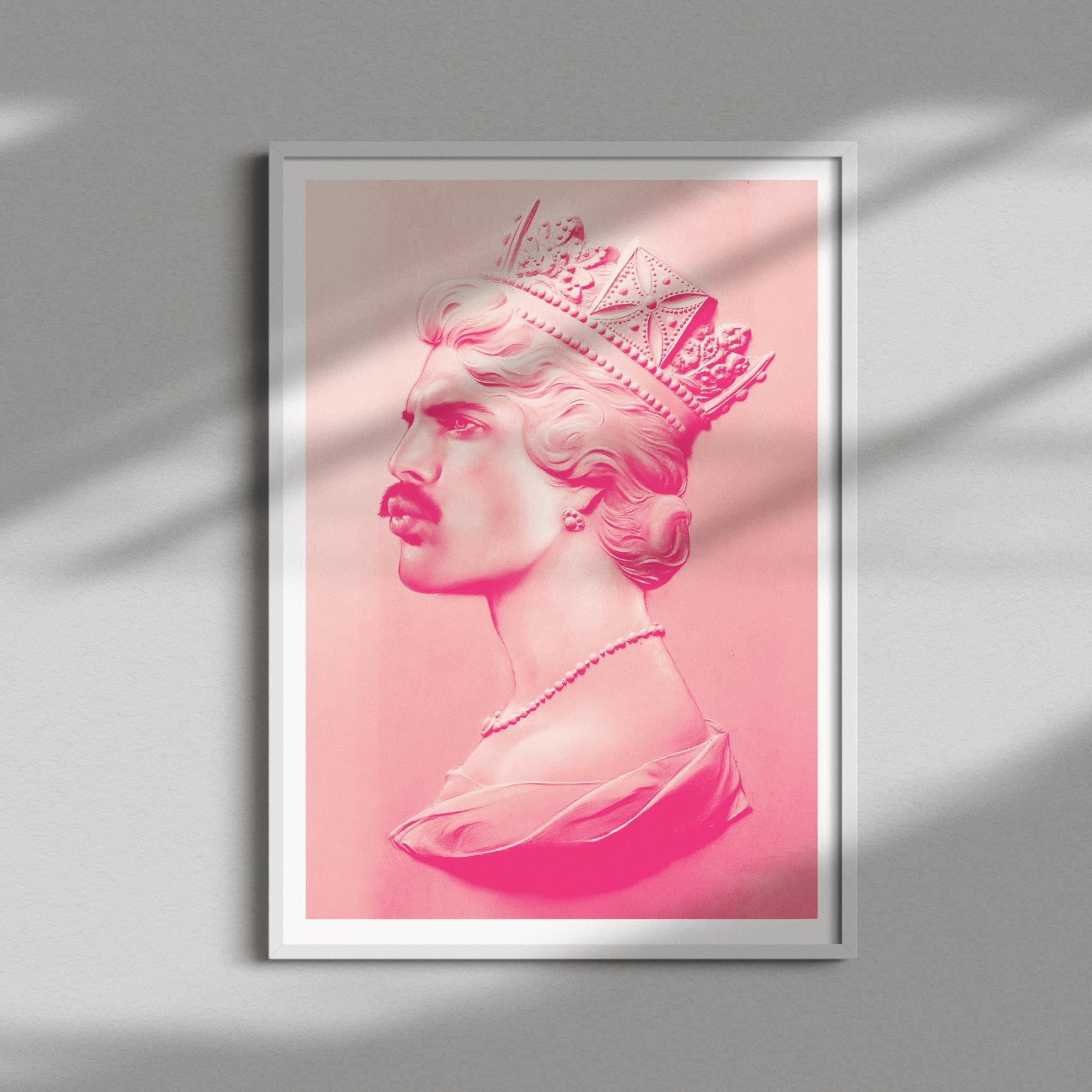 All We Want for Xmas is … Freddie XL Screen Print