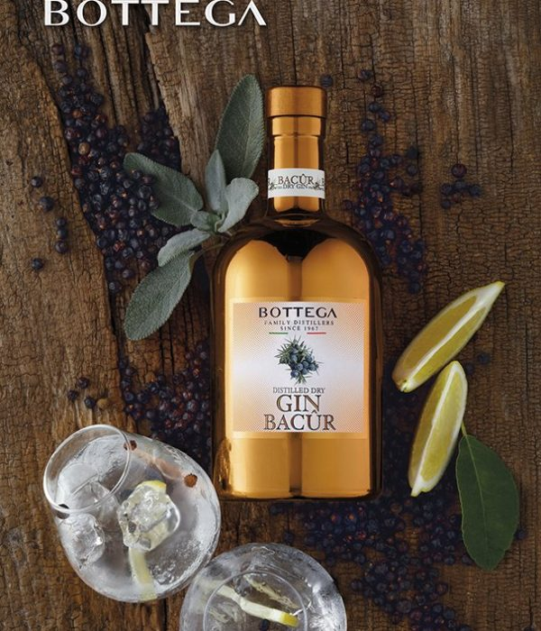 New! Bottega Bacur Distilled Dry Gin